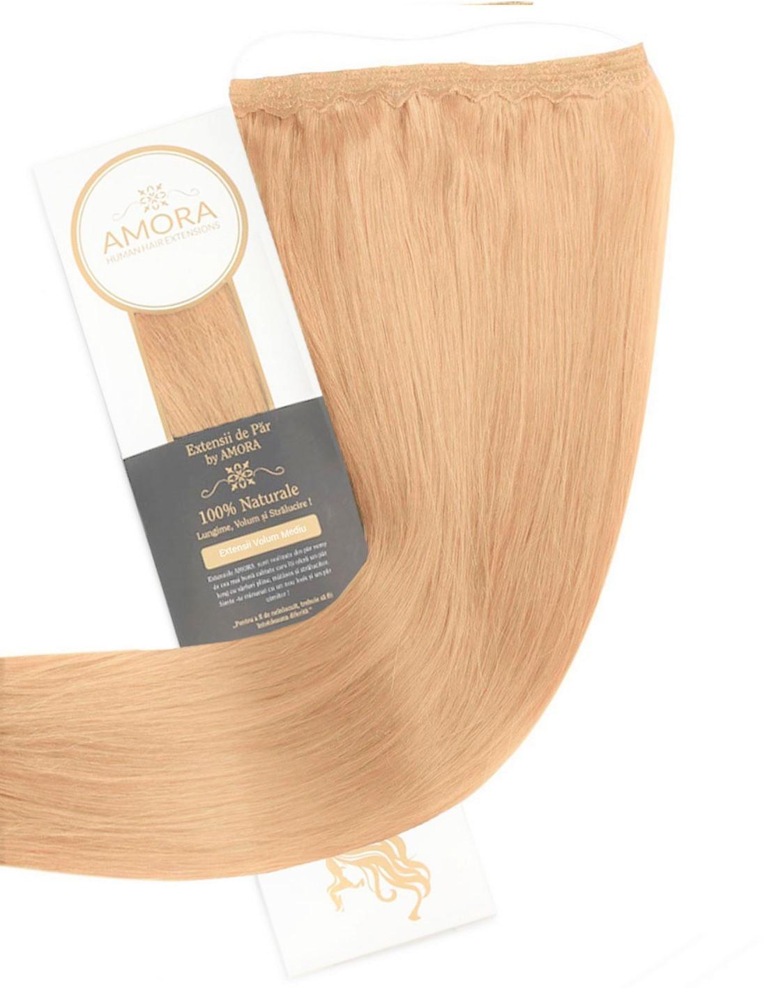 Imagine Extensii Flip In Lux Blond Piersica 26