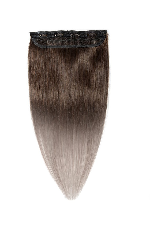 Imagine Extensii Tresa Luxury Edition Ombre Saten - Blond Cenusiu
