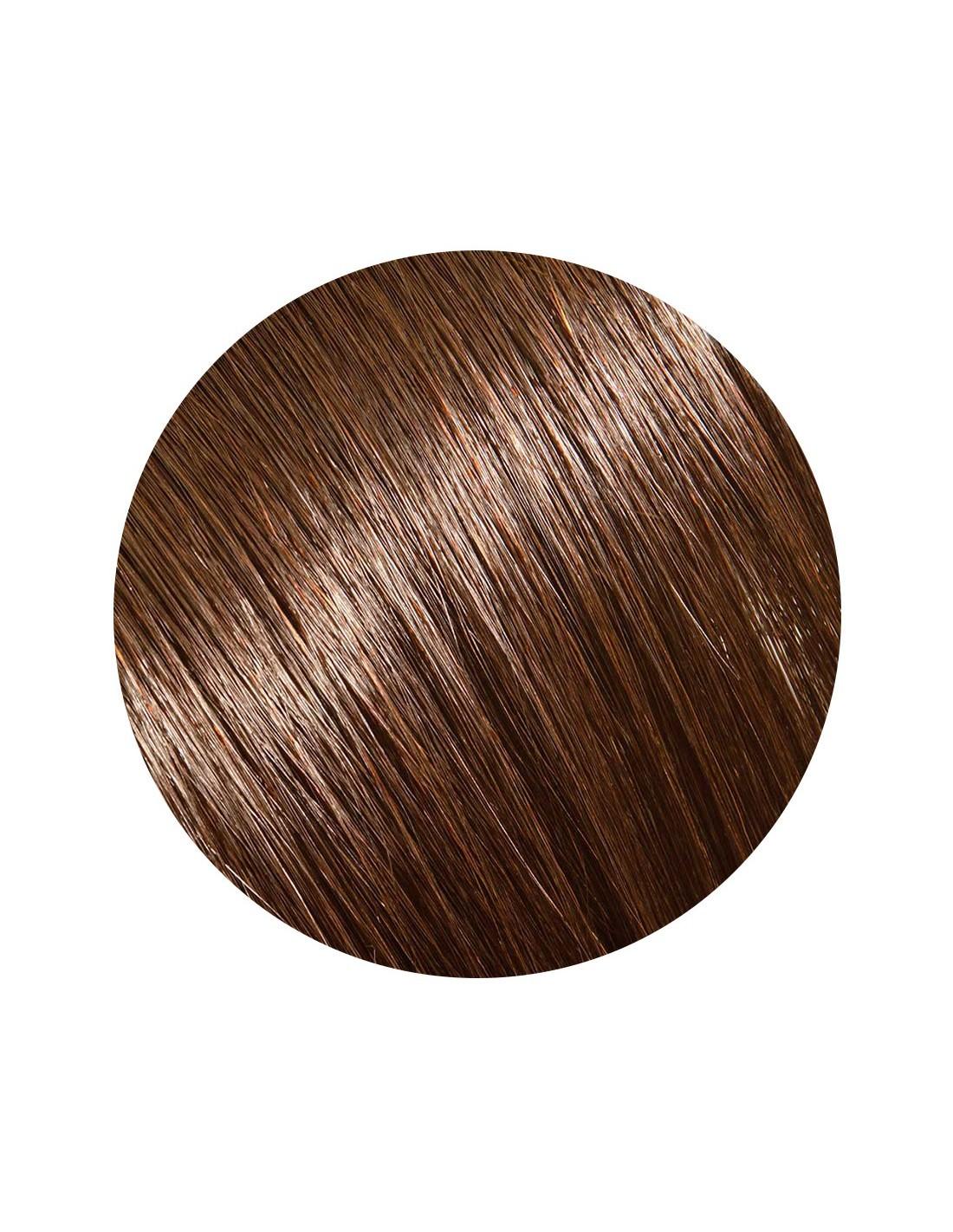 Imagine Extensii Clip On Electrique Style Saten Ciocolatiu 4