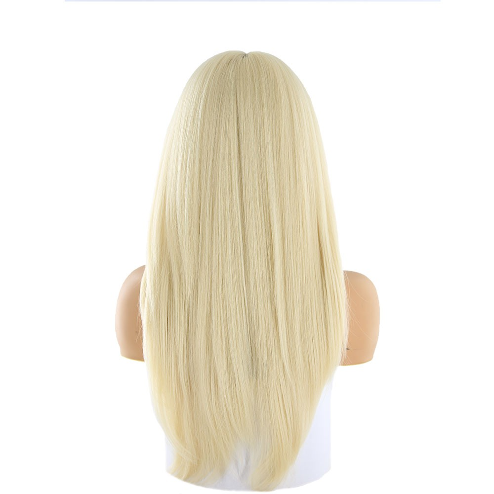 Imagine Peruca Naturala Brianna Blond Platinat 60