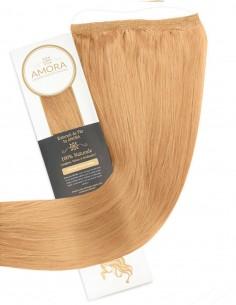 Extensii Flip In LUX Blond Inchis 27