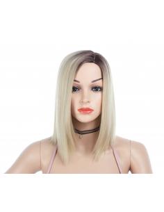 Peruca DARYA Bob Ombre Saten Natural/Blond Platinat
