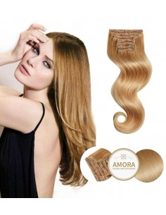 Extensii Clip On CLASSIC LINE Blond Inchis 27