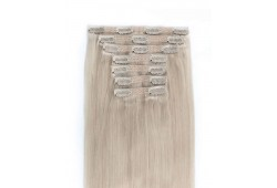 Extensii Clip On CLASSIC LINE Blond Cenusiu PLA