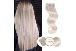 Extensii Clip On ELECTRIQUE STYLE Blond Cenusiu PLA