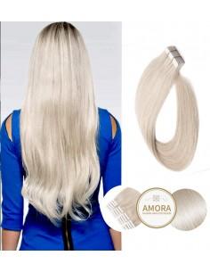 Extensii Tape In BRILLIANT Blond Cenusiu PLA