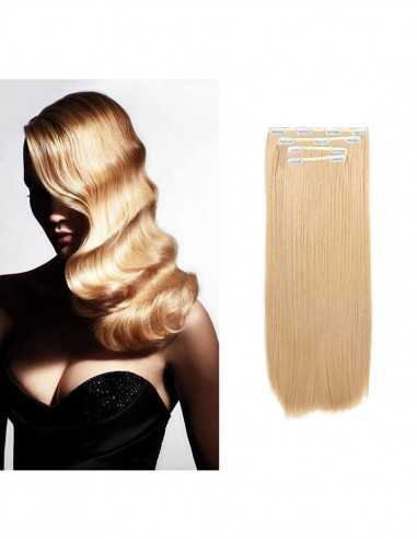 Extensii Clip On Amora Blond Inchis 27