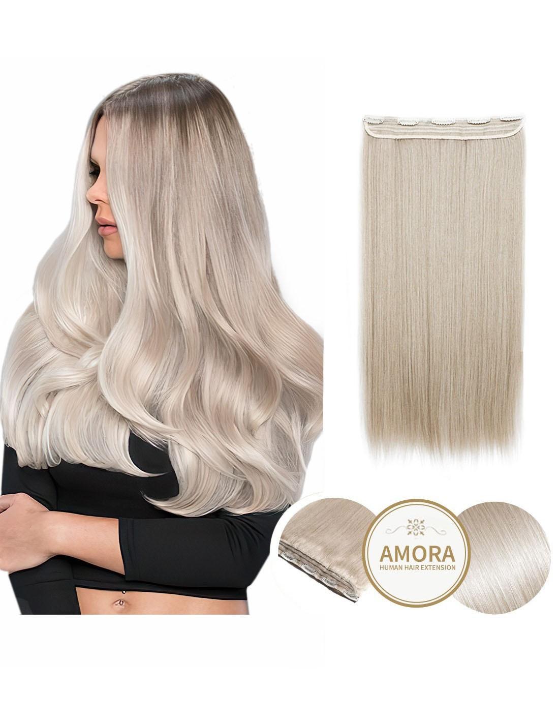 Extensii Tresa BRILLIANT Blond Cenusiu PLA 55 cm PLA - Blond Cenusiu