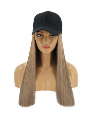 Sapca cu Tresa Atasata Blond Nisipiu 18