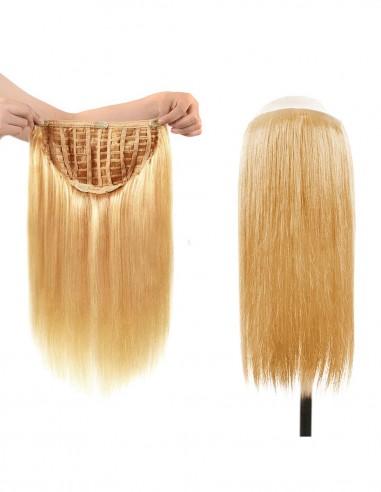 Tresa Par Natural cu Calota Blond Sampanie 26
