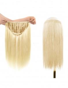 Tresa Par Natural cu Calota Blond Auriu 22