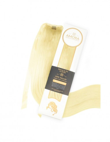Extensii Coada Amora Blond Deschis Auriu 22