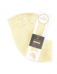 Extensii Clip On MegaVolum Blond Deschis Auriu 22