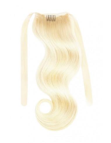 Extensii Coada LUXURY EDITION Blond Deschis Auriu 22