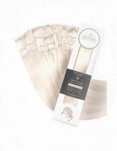 Extensii Clip On MegaVolum Blond Cenusiu PLA