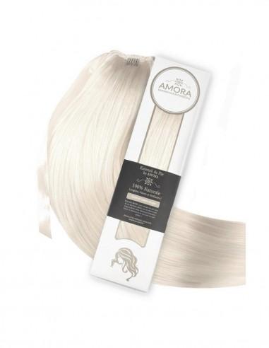 Extensii Coada Platinum Blond Cenusiu PLA