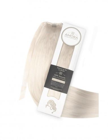 Extensii Coada De Lux Blond Cenusiu PLA
