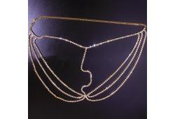 Accesoriu FANCY cristale argintii