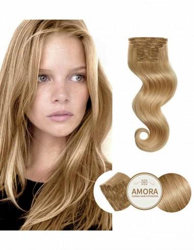 Extensii Clip ON  BRILLIANT Blond Bej 16