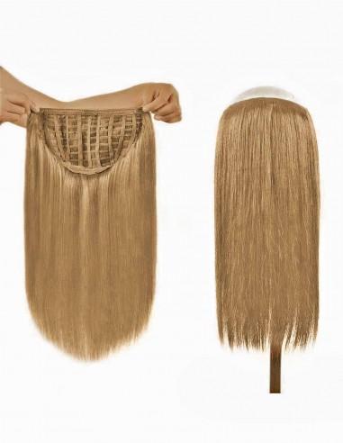 Tresa Par Natural cu Calota Blond Bej 16
