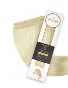 Extensii Tape In  Amora Blond Rece Perlat 60