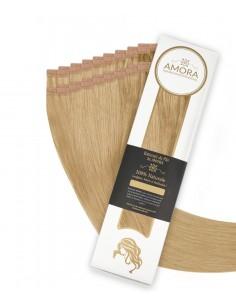 Extensii Tape In  Amora Blond Platinat Bej 16